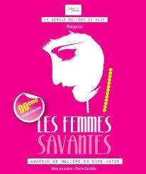 Molière, Alexandrin, Femmes savantes